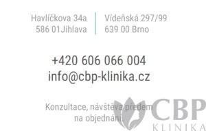 kontakt na pobočky Jihlava a Brno